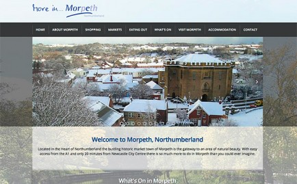 Website for More In Morpeth