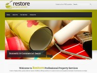 Website for Restore Property Services