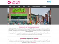 Website for Carters Square, Uttoxeter