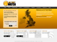 Website for Oil Theft Watch