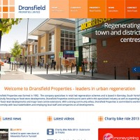 New Responsive Dransfield Properties Website Launched