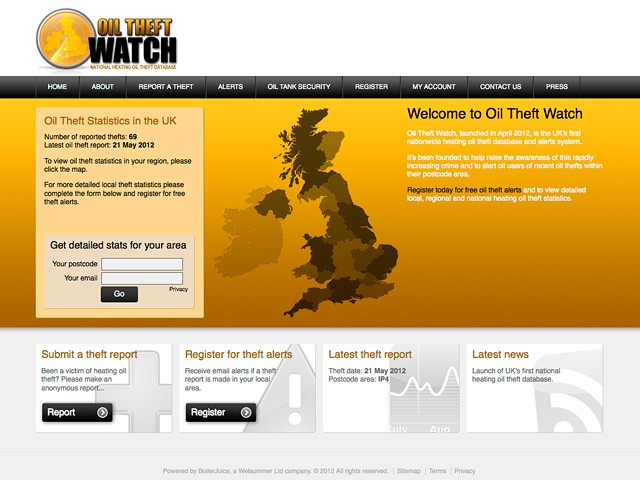 New Oil Theft Watch Website Launched