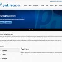 Parkinsone Gee Recruitment Website Launched