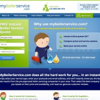 MyBoilerService.com Website Launched