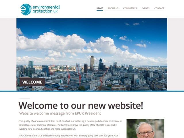 New Environmental Protection UK Website Launched